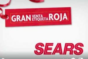 08fcf9f96 Sears  Venta Nocturna de Etiqueta Roja del 12 al 15 de abril del 2019