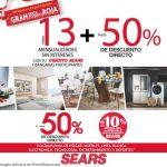 Sears: Gran Venta Nocturna de Etiqueta Roja del 5 al 8 de Abril de 2019