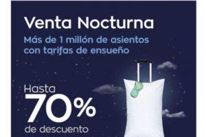 Gran Venta Nocturna Interjet 70% de descuento en vuelos 30 de abril 2019