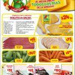 Frutas y Verduras Bodega Aurrerá del 3 al 9 de Mayo de 2019