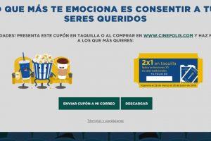 Cinépolis: 2x1 para socios Club Cinépolis contestando una encuesta