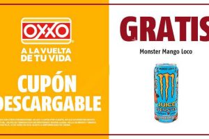 Cupón Oxxo: Monster Mango Loco de 473 ml Gratis