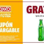 Cupón Oxxo: Sprite de 235 ml GRATIS al 12 de junio 2019