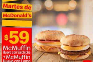 Cupones Martes de McDonalds 21 de mayo 2019
