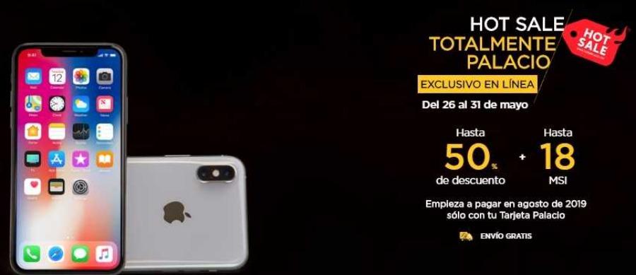 Hot Sale 2019 en Palacio de Hierro: Hasta 50% de descuento + 18 msi