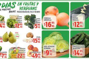 Frutas y Verduras HEB del 21 al 27 de mayo de 2019