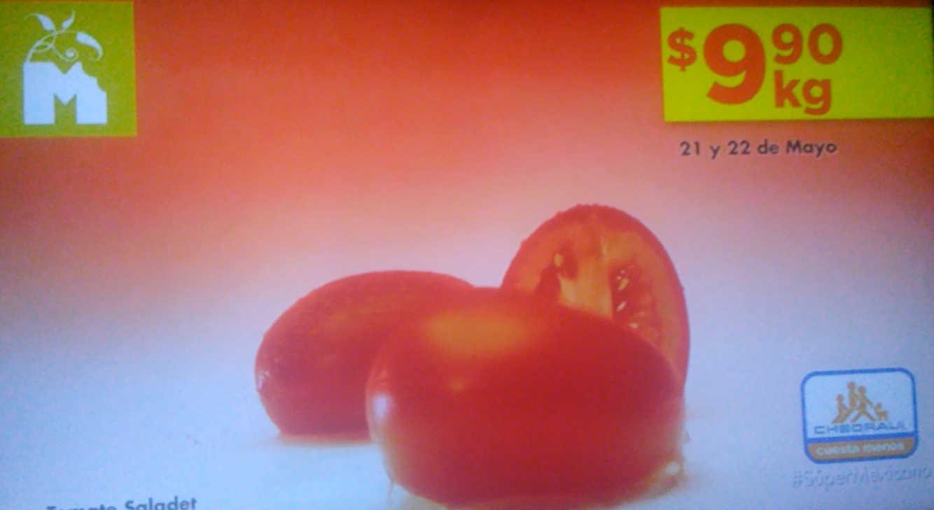 Frutas y Verduras Chedraui 21 y 22 de mayo 2019