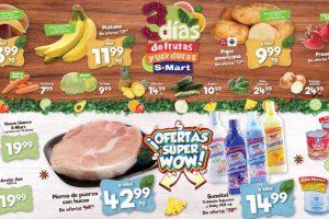 Frutas y Verduras S-Mart del 7 al 9 de Mayo de 2019