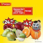 Frutas y Verduras Soriana Mercado y Express del 14 al 16 de mayo 2019
