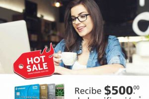 Hot Sale 2019 Scotiabank: $500 de bonificación con tarjetas de crédito