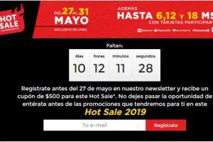 Hot Sale 2019 HEB: Cupón de $500 pesos de descuento al registrarse