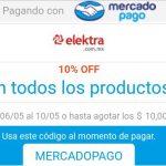 Promociones MercadoPago: Cupones y descuentos del 6 al 10 de mayo de 2019
