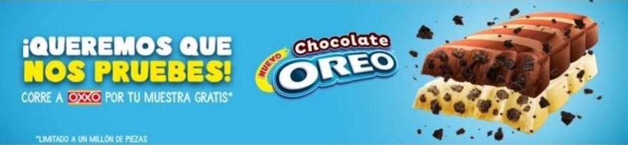 Promoción Oxxo Gratis Chocolate Oreo