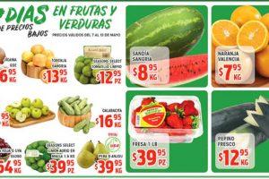 Ofertas HEB Frutas y Verduras del 7 al 13 de mayo de 2019