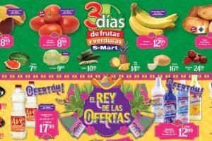 S-Mart Frutas y Verduras del 28 al 30 de Mayo de 2019