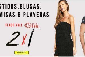 Ofertas Flas Sale Osom: 2x1 en vestidos, blusas, camisas y playeras