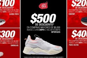 Hot Sale 2019 en Price Shoes Hasta $500 de descuento en compras de $1,200