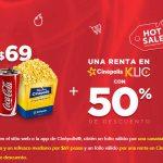 Cinépolis Hot Sale 2019: Cupón de combo a $69 + 50% de descuento en Cinépolis Klic comprando en línea