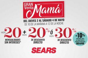24bd46ba0 Sears  Venta Nocturna Día de las Madres del 2 al 4 de mayo 2019