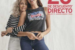 Promoción Sears y Suburbia: 20% de descuento en Levi's Día de las Madres 2019