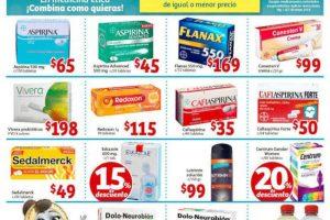 Soriana Mercado: Folleto de promociones en Farmacias del 1 al 6 de Mayo 2019