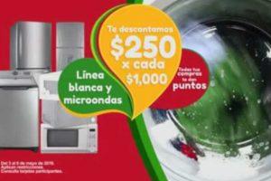 Promoción Soriana y Mega Soriana: $250 de descuento en Línea blanca y microondas