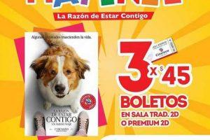 Cinépolis y Cinemex: Matinee La Razón de Estar Contigo a 3x$45 o $15 pesos