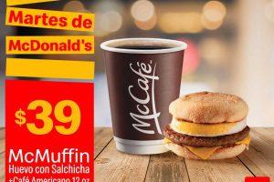 Cupones McDonald's Martes 25 de junio de 2019