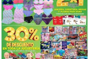 Folleto Soriana Mercado y Express Julio Regalado del 28 de junio al 4 de julio 2019