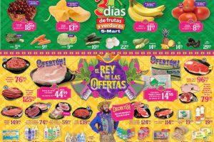 S-Mart Frutas y Verduras del 11 al 13 de Junio de 2019