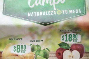 Frutas y Verduras Soriana 11 y 12 de junio 2019