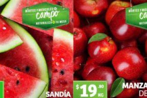 Frutas y Verduras Soriana 4 y 5 de junio 2019