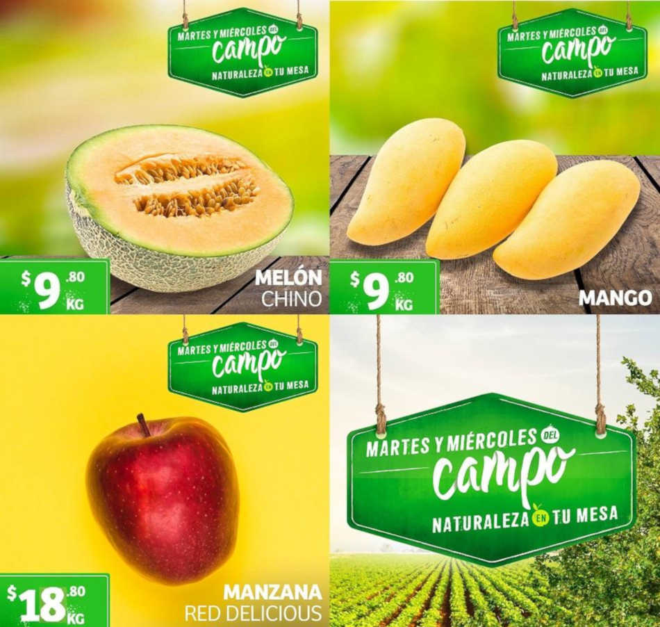 Frutas y Verduras Soriana Mercado del 18 al 20 de junio 2019