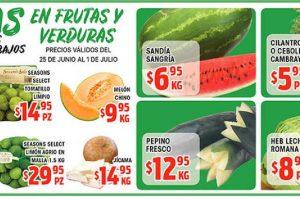 HEB: Frutas y Verduras del 25 de Junio al 1 de Julio de 2019