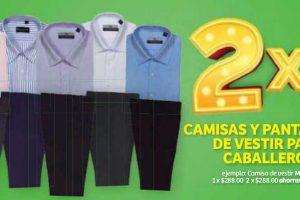 Julio Regalado 2019 en Soriana: 2×1 en pantalones y camisas de vestir