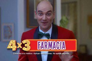 Julio Regalado 2019 en Soriana y Mega Soriana: 4×3 en farmacia