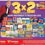Julio Regalado 2019 en Soriana: 3×2 en Atunes, Mayonesas y Chiles en lata