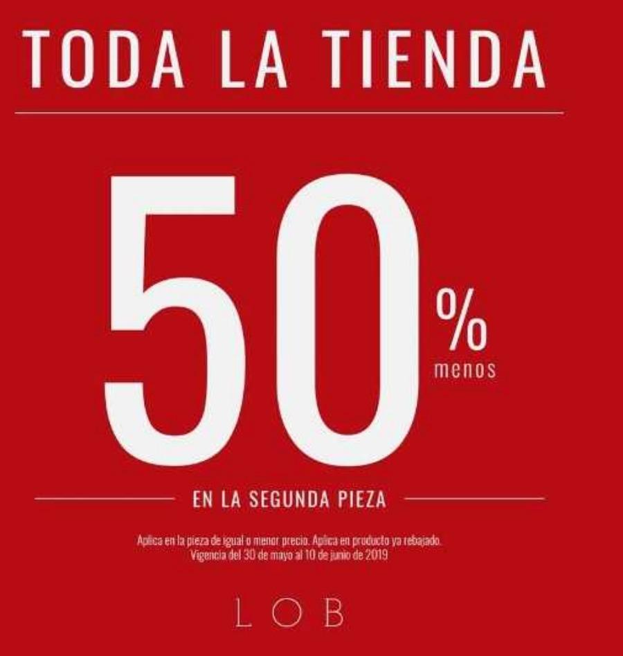 Lob: Rebajas de hasta 50% de descuento en toda la tienda