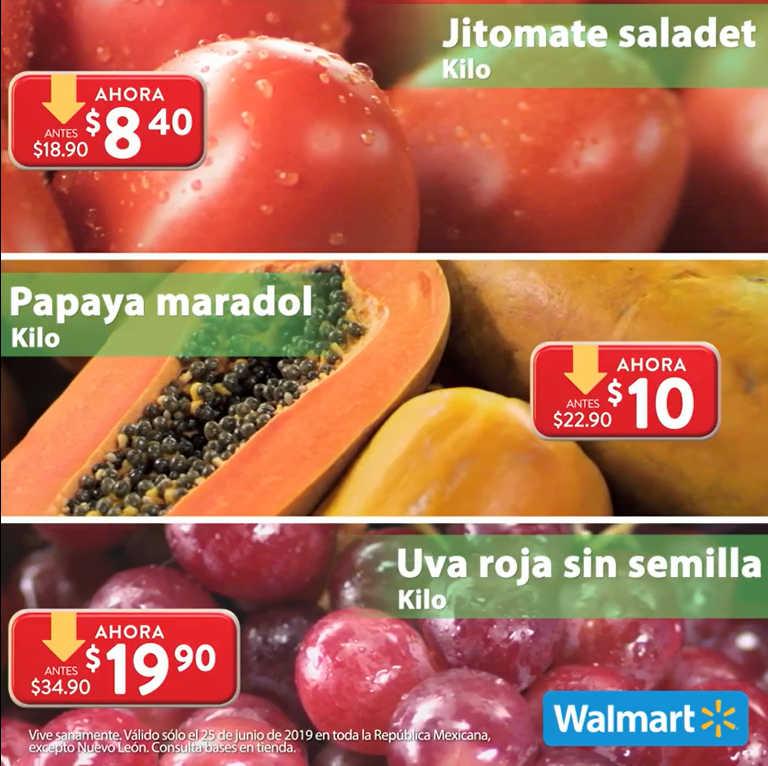 Martes de Frescura Walmart 25 de junio 2019