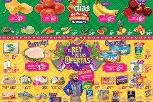 Frutas y Verduras S-Mart del 18 al 20 de Junio de 2019