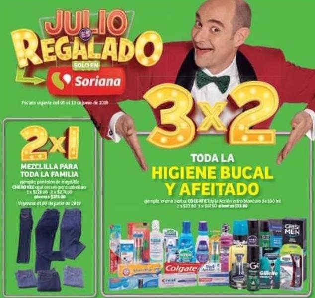 Soriana Julio Regalado 2019: 3×2 en Higiene Bucal y ...