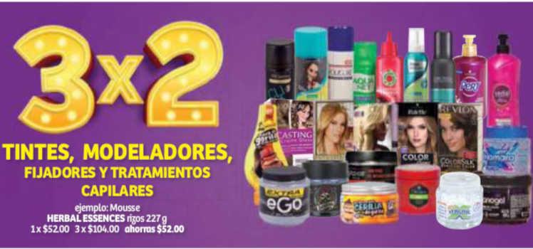 Soriana Julio Regalado 2019: 3×2 en tintes, fijadores, modeladores y  tratamientos capilares