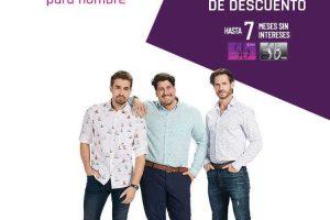 Suburbia: 20% de descuento en ropa, calzado y accesorios para caballero