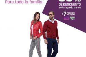 Suburbia: 50% de descuento en segunda pieza de todos los pantalones