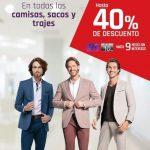 Suburbia: Hasta 40% de descuento en camisas, sacos y trajes para caballero