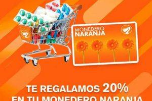 Temporada Naranja 2019 en La Comer y Fresko: Farmacia 20% de bonificación en Monedero Naranja