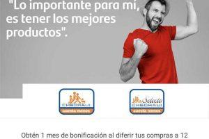 Chedraui: 1 mes de bonificación a 12 meses sin intereses con Santander