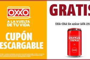 Oxxo: Coca cola sin azúcar GRATIS