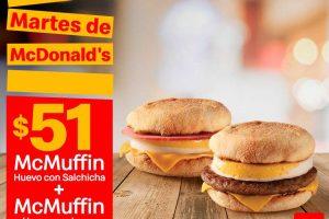 Cupones Martes de McDonalds 9 de julio 2019