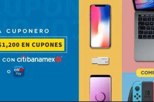 Elektra - Día cuponero hasta $1,200 en cupones con Citibanamex